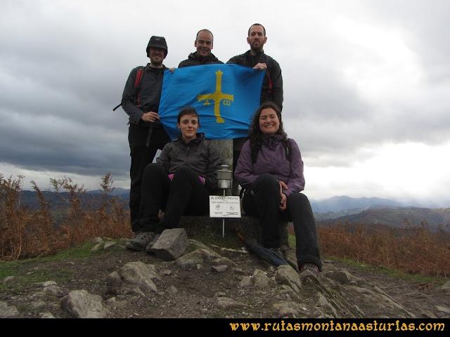 Ruta Olloniego Escobín: Cima del Escobín