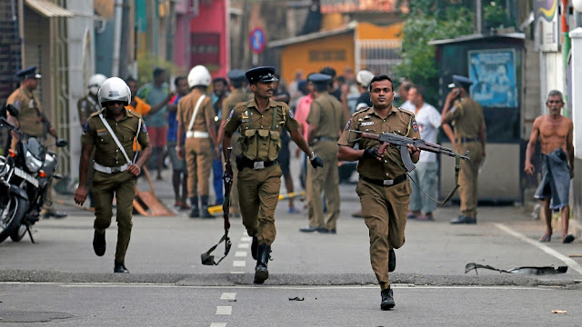 What is the Sri Lankan government's response to the Easter Day Bombings?