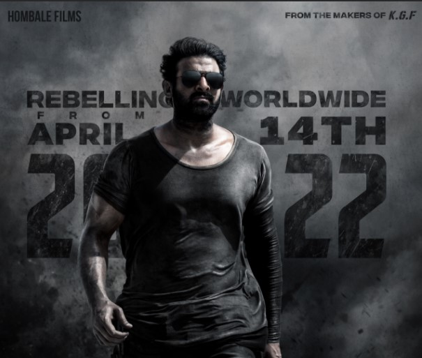 Prabhas and Shruti Haasan's impending movie Salaar, coordinated by Prashanth Neel, will deliver on April 14, 2022. The producers reported the equivalent with a banner.