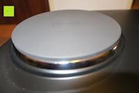 Herdplatte: Andrew James – 23 Liter Mini Ofen und Grill mit 2 Kochplatten in Schwarz – 2900 Watt – 2 Jahre Garantie