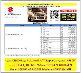 Suzuki Karimun Wagon R Bandung 2016, Harga Suzuki Karimun Wagon R 2016, Kredit Suzuki Karimun Wagon R 2016
