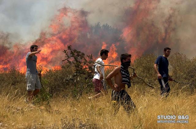Φωτιά στη Νεμέα
