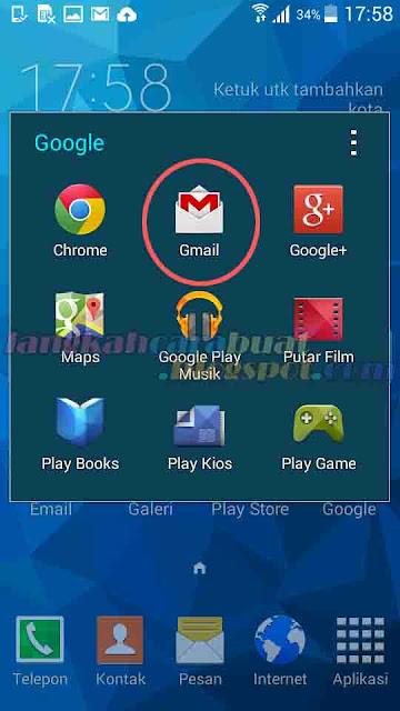 Membuat Email Gmail Di HP Samsung Galaxy