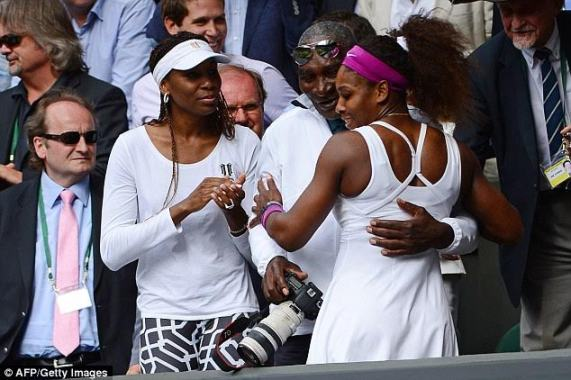 Serena and Venus Williams' father Richard, 74, suffered stroke days before their victories at Wimbledon