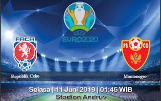 Prediksi Republik Ceko vs Montenegro 11 Juni 2019