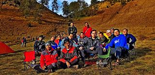 Privet Trip Pendakian Gunung Semeru #Lokasi Danau Ranu Kumbolo