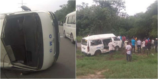 So Sad : 4  Principals Die in Road Accident Along Benin-Warri Express Road.