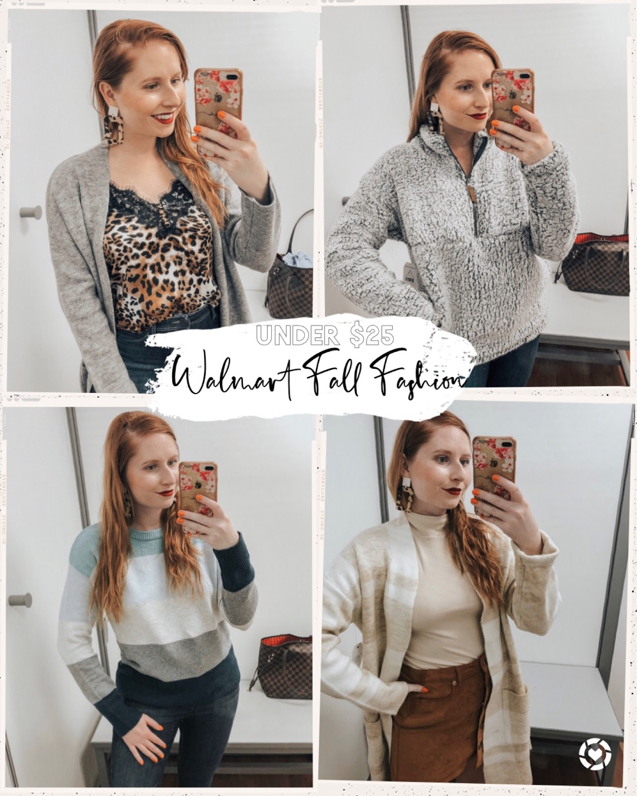 October Walmart Try-On Outfits Under $25. Affordable by Amanda, Tampa based style blogger shares her list of Walmart fashion finds.