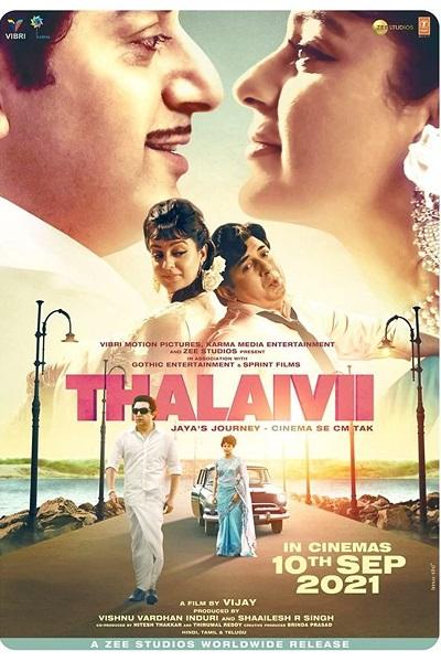 Download Thalaivi (2021) Hindi 720p + 1080p WEB-DL ESub