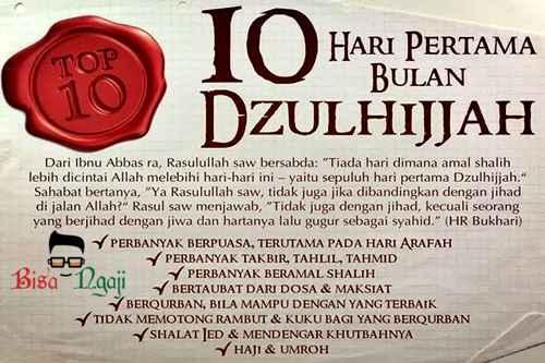 Keutamaan Puasa Arafah Dan Tarwiyah Sebelum Idul Adha 9-8 Bulan Dzulhijjah