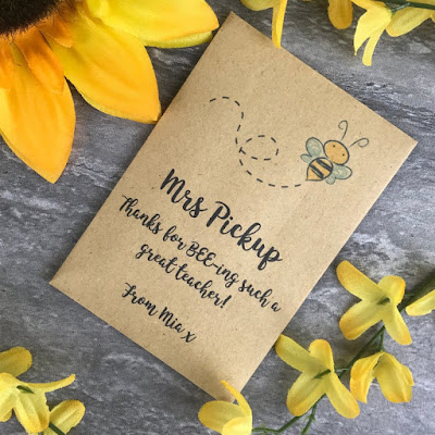 Personalised Teacher Gift, Teacher Gift, Bee Friendly Seeds, Teacher Appreciation, End of Year Teacher Gift, Teacher Gift, Teacher Thank You
