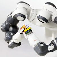 Otomasyon, rubik küp çözen akıllı robot