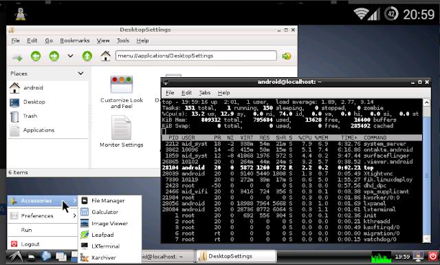 Cara Instal Kali Linux di Android Dengan Linux Deploy dan VNC viewer
