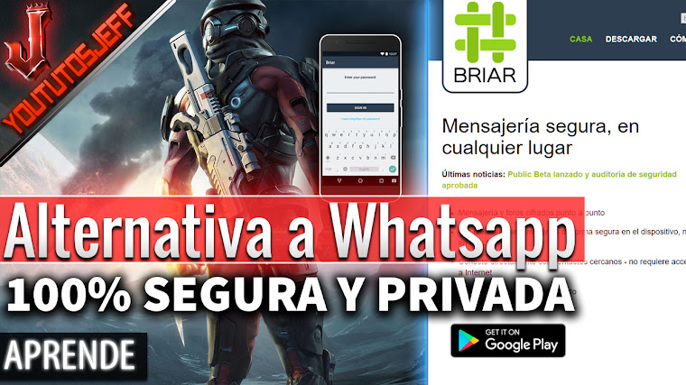 Briar - Alternativa a Whatsapp 100% Privada y segura