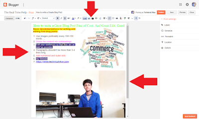 Blog me First Post kaise Edit kare | Post Editor ke Puri Jankari