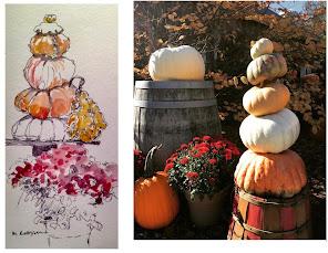 Fall Watercolor Classes Online