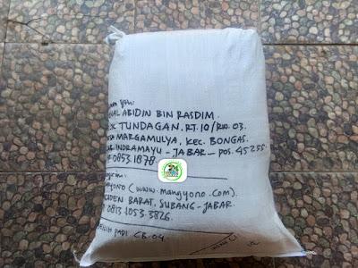 Benih Padi Pesanan   JENAL ABIDIN Indramayu, Jabar.   (Setelah di Packing).