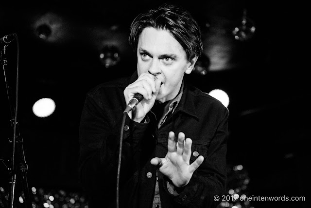 Peter Dreimanis of July Talk at The Horseshoe Tavern 70th Anniversary Party at The Legendary Horseshoe Tavern on December 5, 2017 Photo by John at One In Ten Words oneintenwords.com toronto indie alternative live music blog concert photography pictures photos