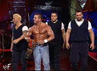 WWE / WWF Armageddon 1999 - European Champion British Bulldog w/ The Mean Street Posse