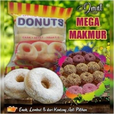 Donat Original Mega Makmur
