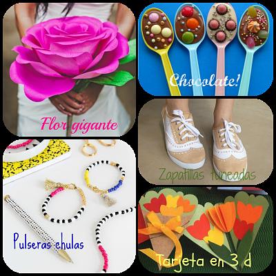 DIY regalos para el día de la madre