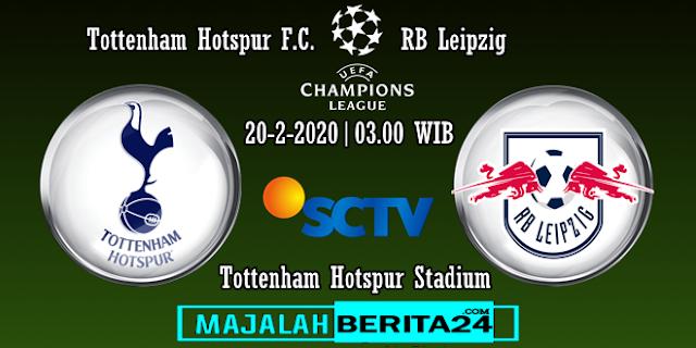 Prediksi Tottenham Hotspur vs RB Leipzig