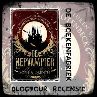 Recensie door De boekenfabriek van De nepvampier geschreven door Sophia Drenth voor de blogtour georganiseerd door Hamley Books