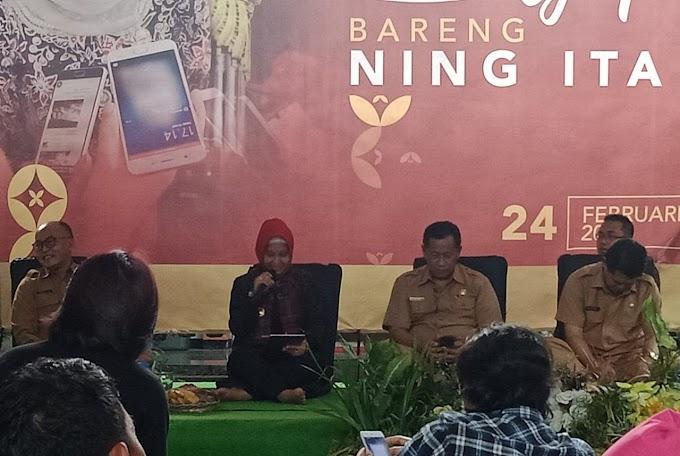 """Ngopi"" Bareng  Ning Ita, Paparkan Pencapaian dan Inovasi Pembangunan Kota Mojokerto"