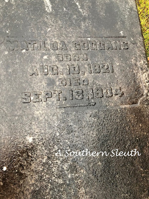 Matilda Rainwater, Matilda Goggans, Haralson County, Genealogy, Ancestry, A Southern Sleuth,