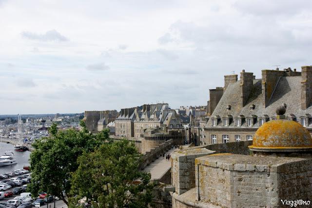 Vista Panoramica dal Castello di Saint Malo