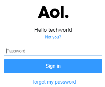 Reset AOL Login Password