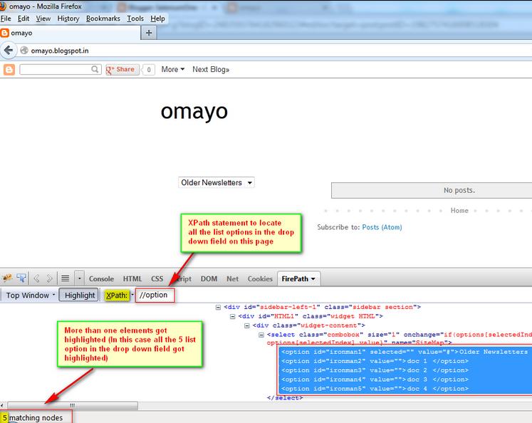 SeleniumTwo (QAFox com): 158  Get XPath Count in Selenium