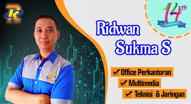 Instruktur Multimedia, Teknisi Jaringan Komputer - Ridwan Sukma S - Retro Komputer