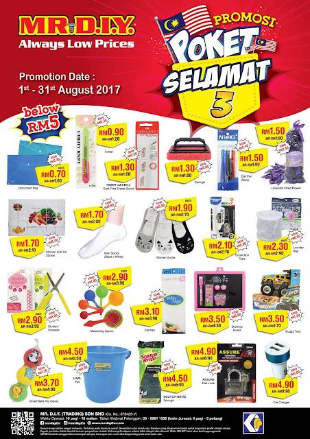 MR DIY Malaysia Promosi Poket Selamat Discount Offer