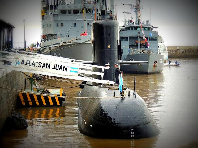 Analizan una imagen a 477 metros de profundidad para definir si es el submarino ARA San Juan