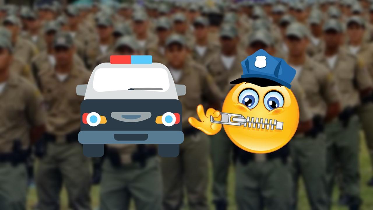 """Comando Geral da Polícia Militar de Pernambuco proíbe que a corporação conceda entrevistas sobre ocorrências ou """"fatos de natureza negativa"""""""