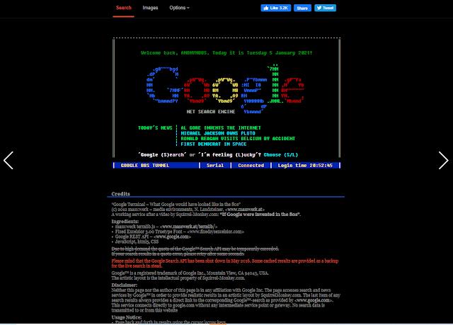 تأثير كلمة google terminal في محرك البحث جوجل