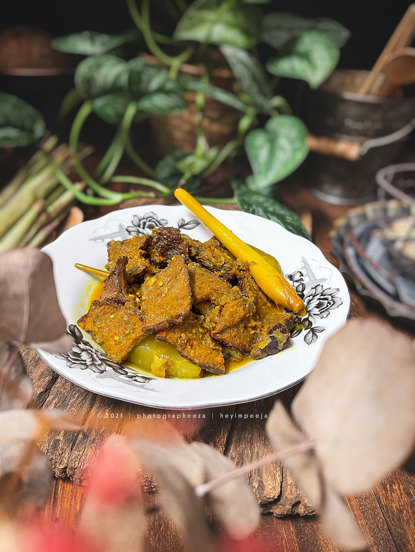 Daging Salai Goreng Kunyit