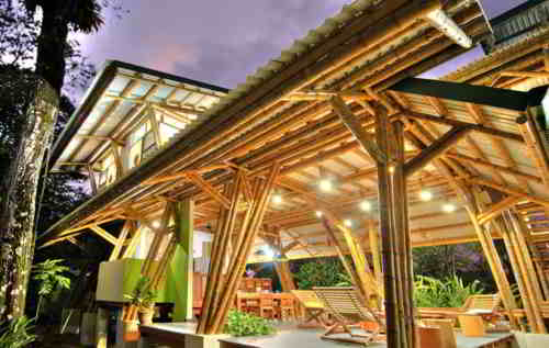 estructura de bambu