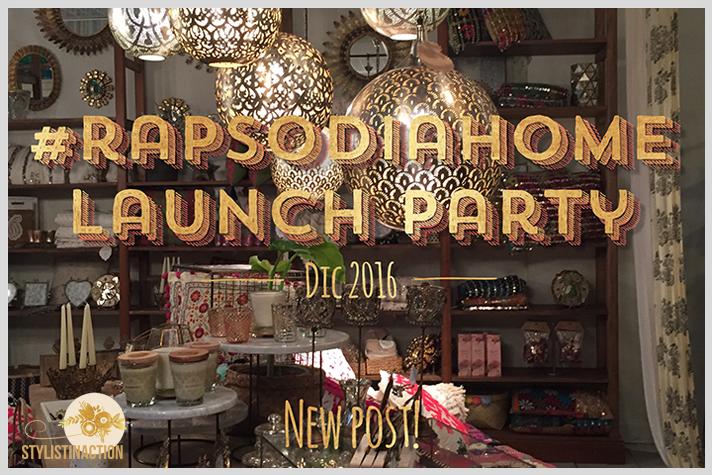Rapsodia Home lanzó su primera colección en un evento en el local de Paseo Alcorta