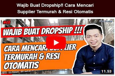 Dropship - bisnis rumahan terpercaya tanpa modal   Bagian 3