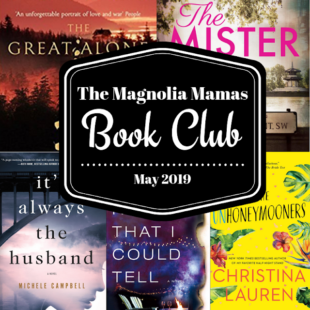 Book Club May 2019: book reviews and suggestions