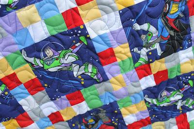 Buzz Lightyear Quilt