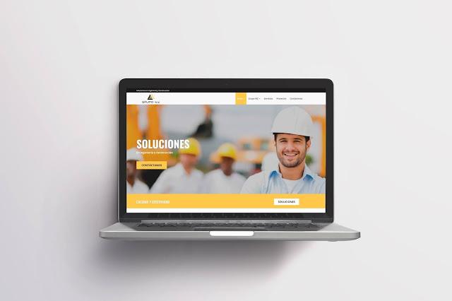 Diseño web para Grupo WZ