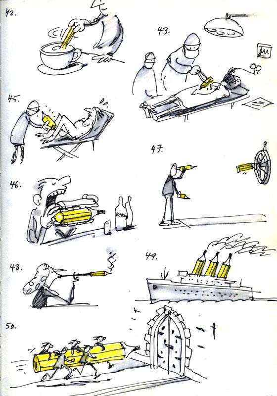 Ellis Nadler's Sketchbook: December 2011