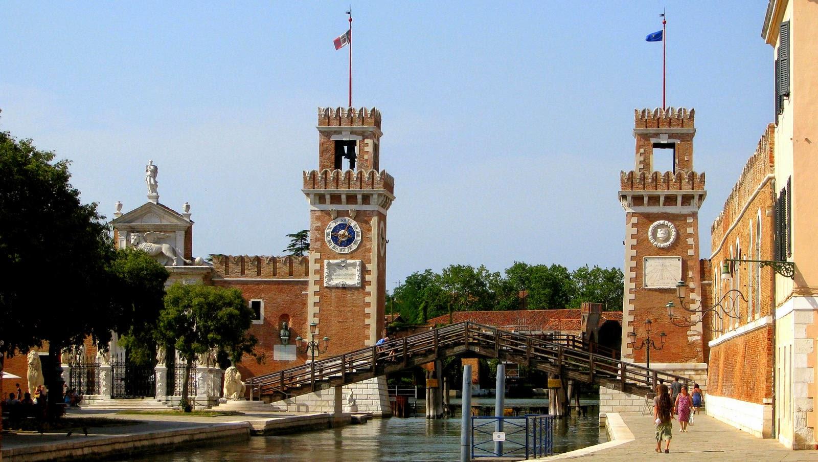 Arsenale di Venezia, Photo by Gunther H.G. Geick