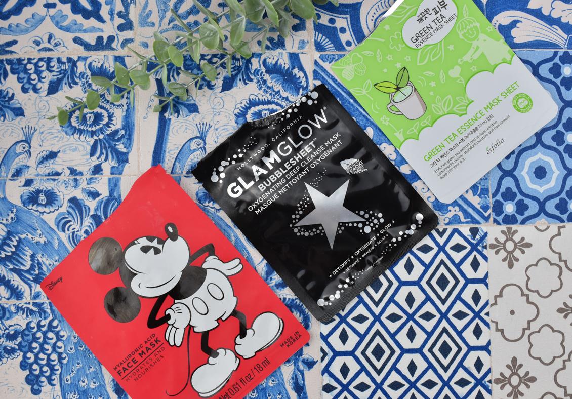 Aufgebraucht Beauty Produkte 2020 Gesichtspflege Haarflege Tuchmaske Glamglow Mickey Mouse Disney