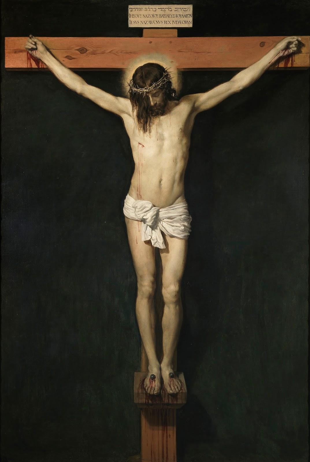 Imagen con Jesús Crucificado