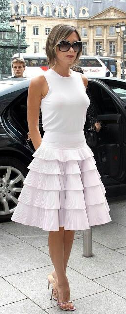 Victoria Beckham Dressing style
