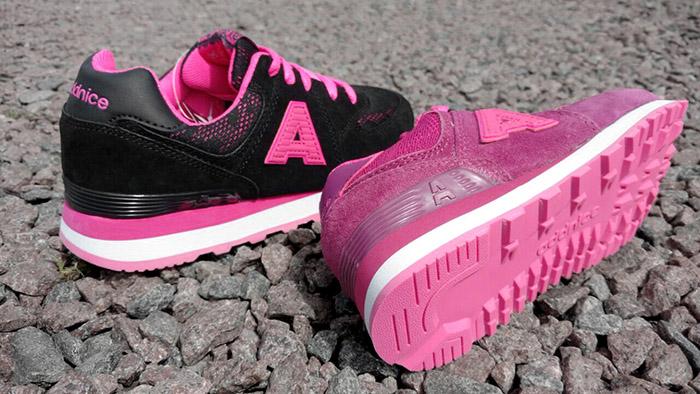 Zapatillas para niñas coleccion primavera verano 2018.